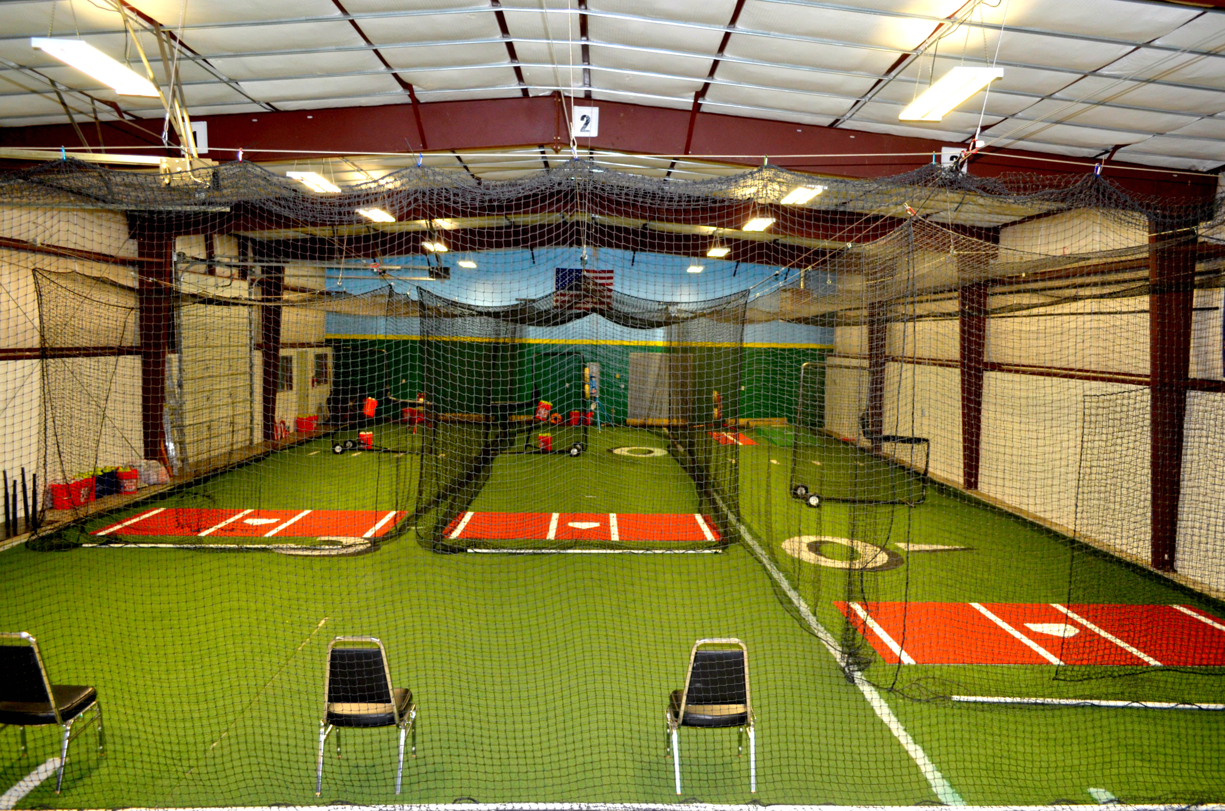 Facility for Design indoor baseball facility